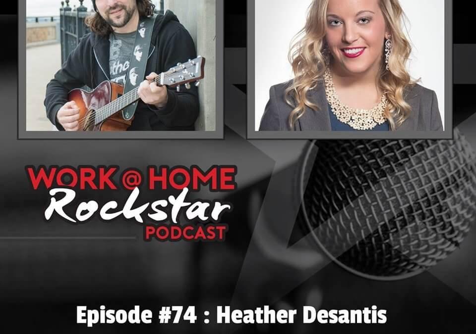 WHR #74 : Heather DeSantis – Public Relations