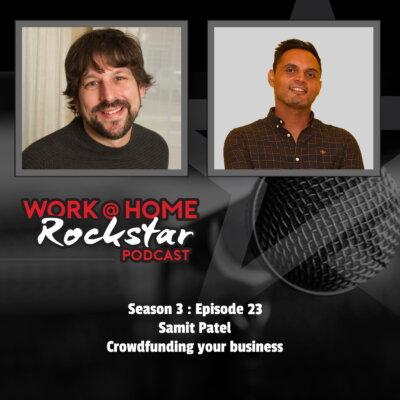 Samit Patel – Crowdfunding your business